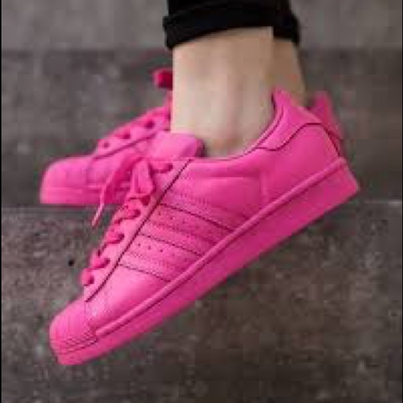adidas superstar pharrell pink